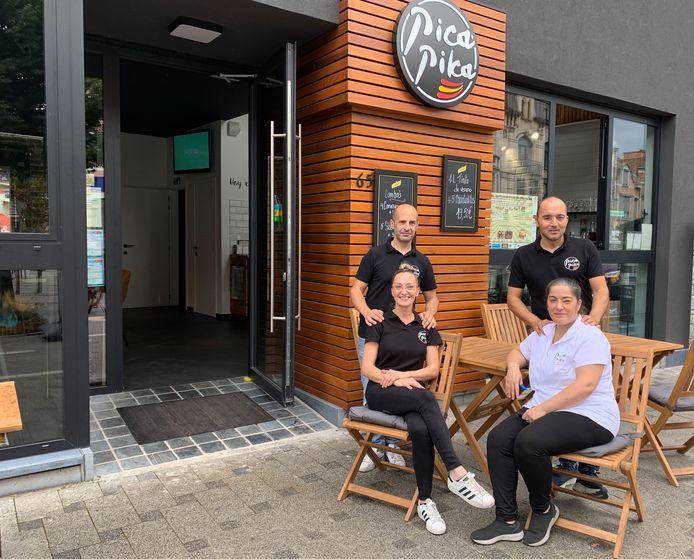Joaquin Perez Latorre en Sara Parra Ibañez, Daniel Parra Ibañez en Ana Alessi vormen het team achter El Pica Pika.