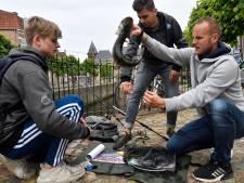 Kampioenschap streetfishing in Amersfoort: jagen op snoeken en baarzen in stadsgracht