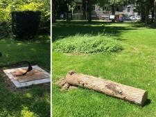 L'exposition du parc communal d'Aywaille vandalisée une semaine après l'inauguration
