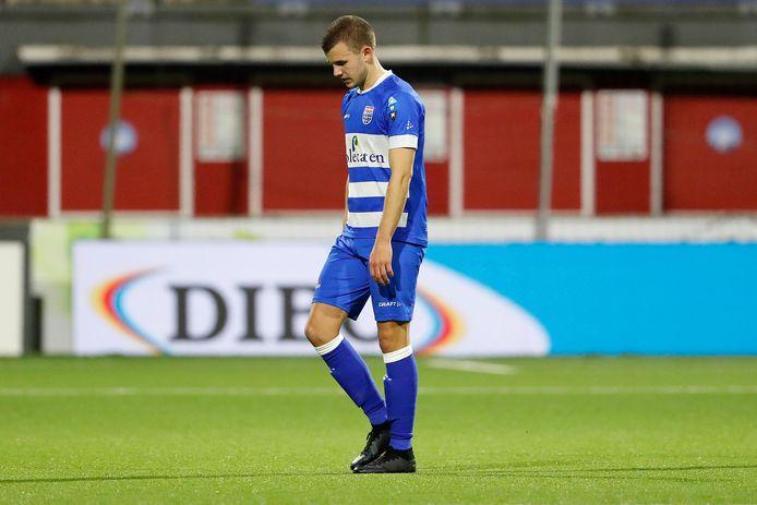 Na zijn vertrek bij PEC Zwolle heeft Jesper Drost nog altijd geen nieuwe club kunnen vinden.