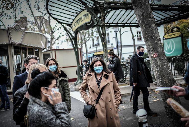 The New York Times koos een saaie foto.  Beeld Stephane de Sakutin / AFP