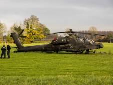 Strafrechtelijk onderzoek naar ongeluk Apache