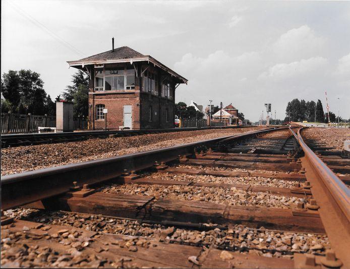 Saxby seinhuisje langs de Neerpeltse spoorweg