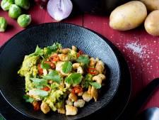 Wat Eten We Vandaag: Spruitjesstamppot met een Thaise twist
