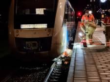 Machinist overrijdt verkeersbord en kan niet verder: treinverkeer ligt stil, passagiers verder in bus