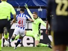 Keepersgate bij Ajax: Scherpen toe aan meer speelminuten