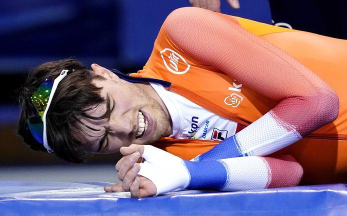 Patrick Roest zit helemaal stuk na zijn teleurstellende optreden op de 5.000 meter.