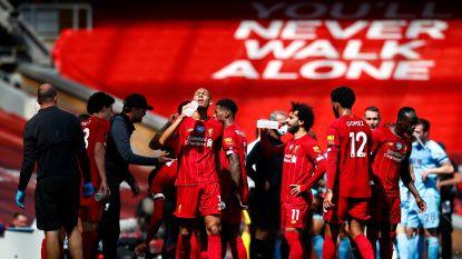 LIVE. Robertson zet Liverpool met knappe kopbal op voorsprong