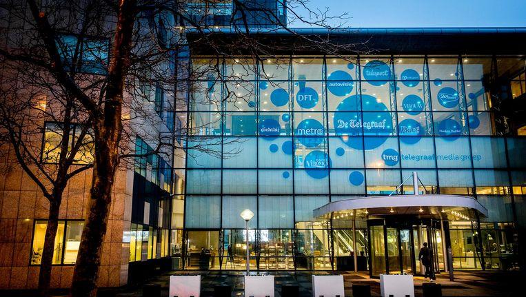 Het gebouw van Telegraaf Media Groep Beeld anp