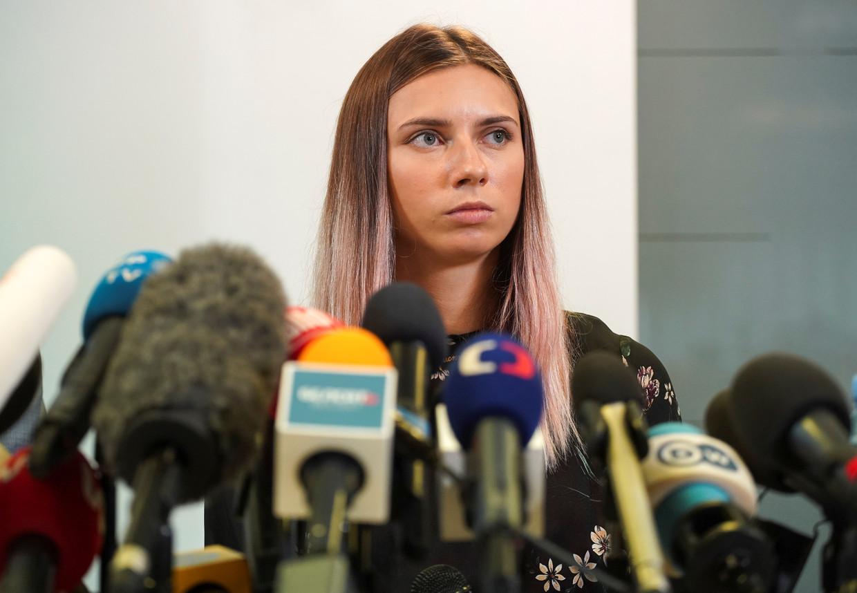 Kristina Timanovskaja. Beeld REUTERS