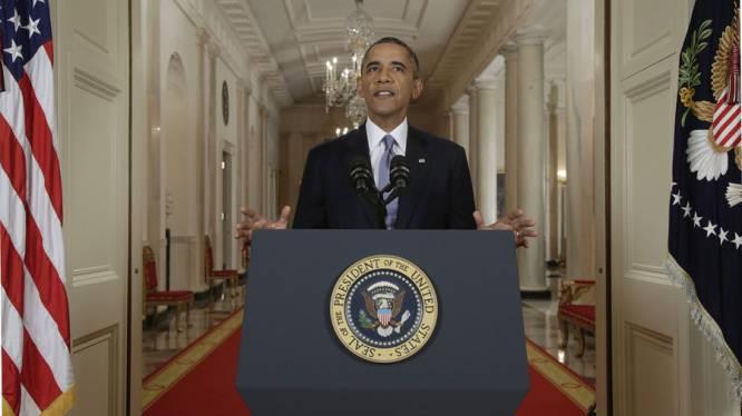 "Obama: ""Leger standby, diplomatie geniet voorkeur"""