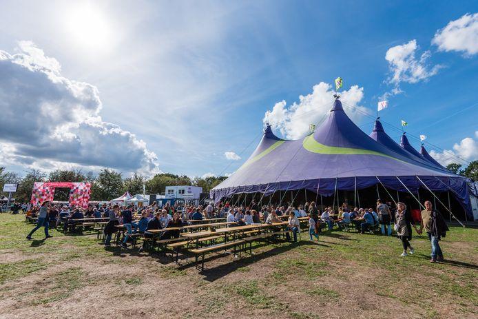 Dorpsfeest Hoogland in 2018.