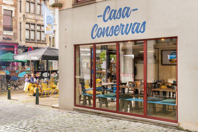 Casa Conservas is de nieuwste tapasbar in Antwerpen.