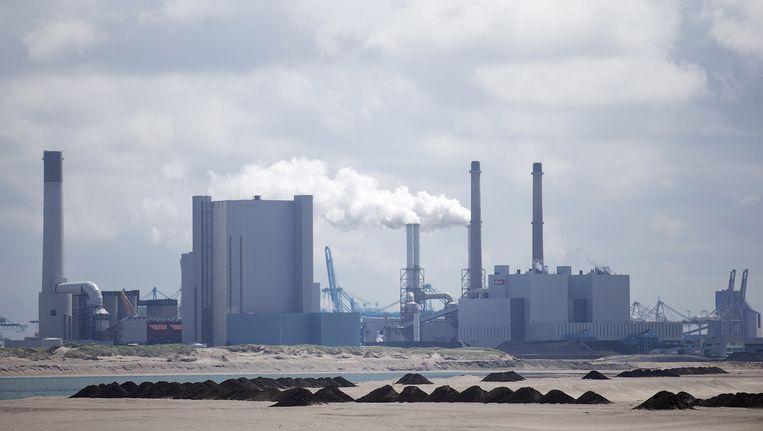 Kolencentrale op de Tweede Maasvlakte. Beeld anp