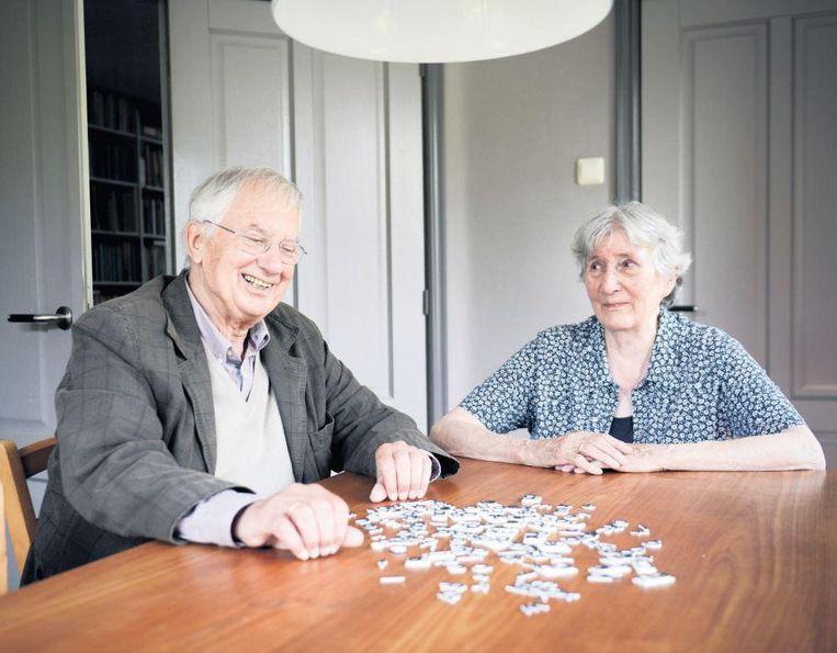 Balt en Hansje van Raamsdonk. Bij het analyseren van zijn eigen dyslexie had Balt veel aan de vragen van Hansje Beeld Bram Petraeus