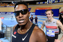 Liemarvin Bonevacia wint de  400 meter tijdens de NK atletiek.