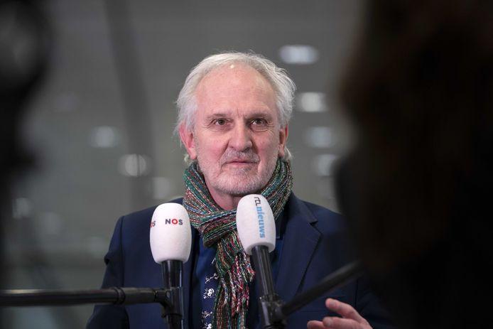 Burgemeester Pieter Broertjes van Hilversum
