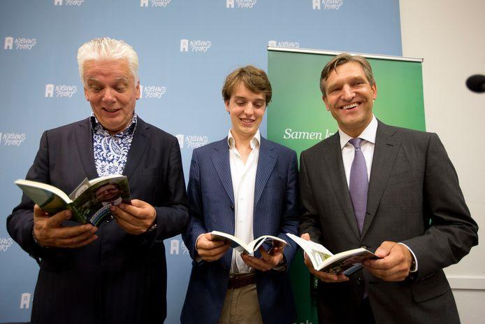 Sywert van Lienden in 2012 met voormalig CDA lijsttrekker Sybrand van Haersma Buma