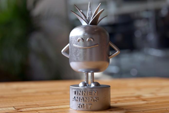 De Tinnen Ananas Award voor de meest gastvrije onderneming van Rotterdam.