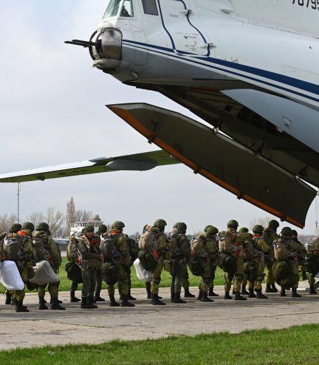 Rusland staakt militaire oefeningen bij grens met Oekraïne
