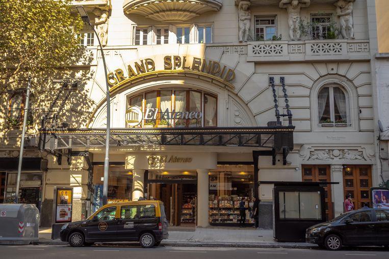 De ingang van de El Ateneo Grand Splendid. Beeld Alamy Stock Photo