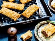 Wat Eten We Vandaag: Vegetarische saucijzenbroodjes