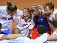 Tsjechië en VS in finale Fed Cup