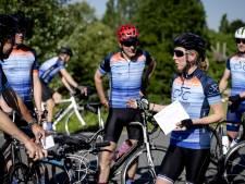 375 kilometer fietsen, van Breda naar Groningen, om aandacht te vragen voor klimaatverandering
