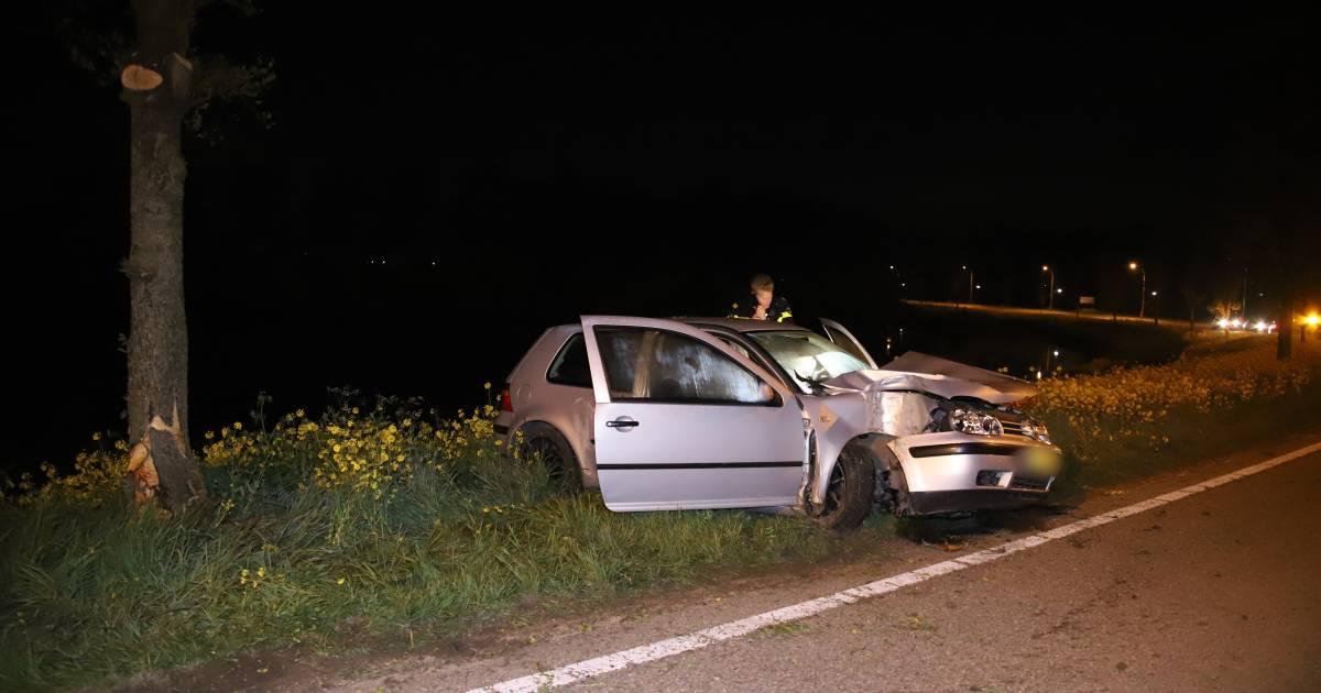 Drie gewonden bij ongeval in Opheusden.