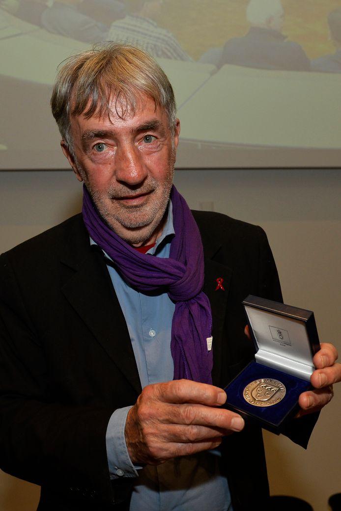 Zilveren Legpenning voor Albert Megens.