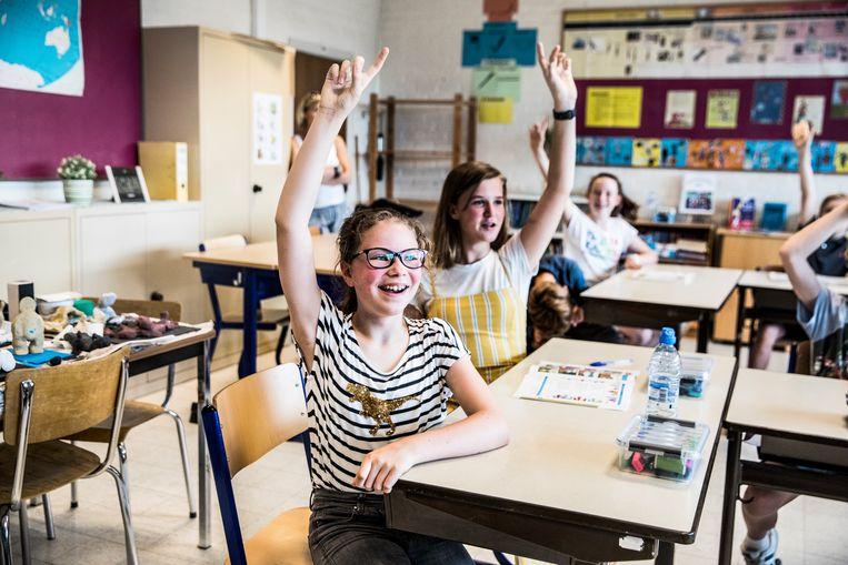 De Franse taal sluit niet echt aan bij de leefwereld van kinderen en jongeren.  Beeld Aurélie Geurts