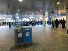 Treinverkeer Rotterdam CS ernstig ontregeld