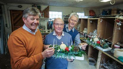 300 kerststukjes voor schoolproject Philip Vertriest