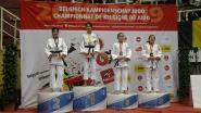 Kapelse judovereniging heeft met Ellen Lim Belgisch kampioene
