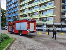 Brand op begane grond van flat, bewoners erg geschrokken
