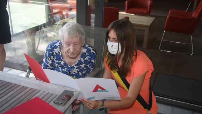 Gerardina Hertveldt viert 100ste verjaardag in Eden Park