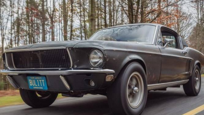 Ford Mustang van Steve McQueen in 'Bullitt' verkocht voor 3,7 miljoen dollar