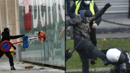 Protest van de 'gele hesjes' in 27 foto's: zo hevig ging het eraan toe in Brussel