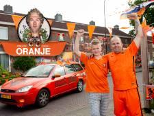 De auto van Ringo (35) uit Apeldoorn is tijdens het EK niet te missen: 'Of ik gestoord ben? Eigenlijk wel'