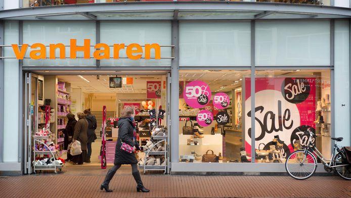 Van Haren heeft niet zichtbaar geleden onder de crisis in de winkelstraten