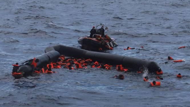36 bootvluchtelingen gered op Middellandse Zee