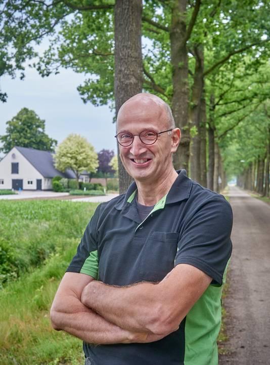 Hans Rijkers, voorzitter van actiegroep LijnRecht uit Keldonk.