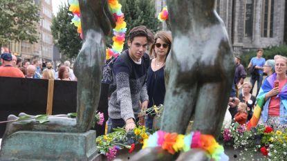 'De Pisserkes' omgedoopt tot 'monument voor seksuele diversiteit'