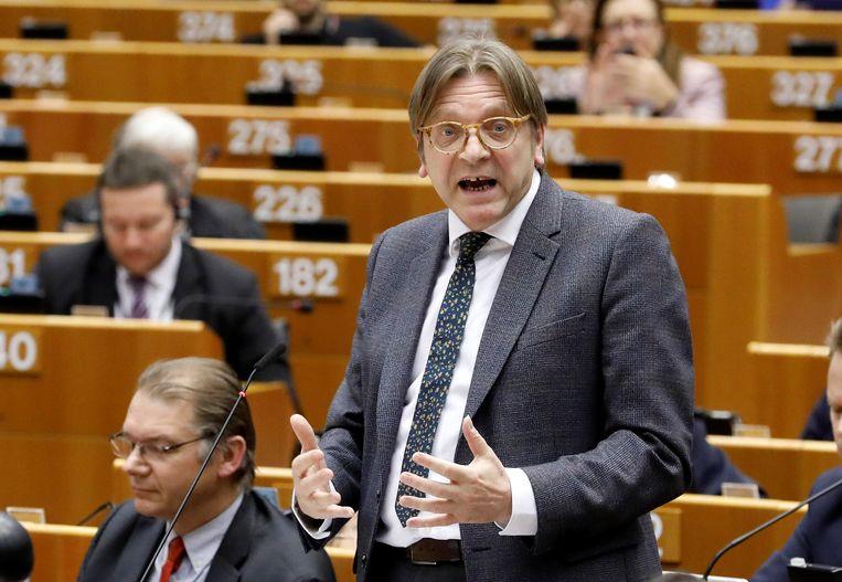 Guy Verhofstadt Beeld REUTERS