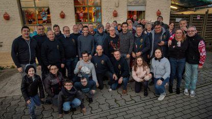 Verbroederingsfeest bij de Ghilde Sint Sebastiaen in Poperinge