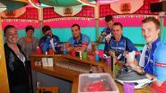 Cafébaas bouwt terras om tot draaimolen
