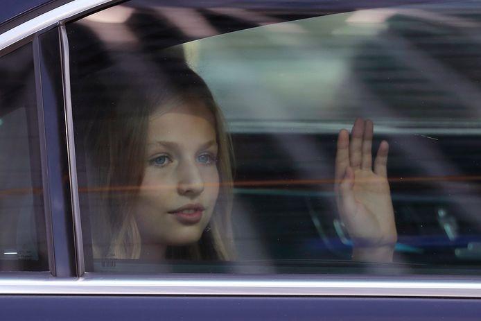La princesse Leonor
