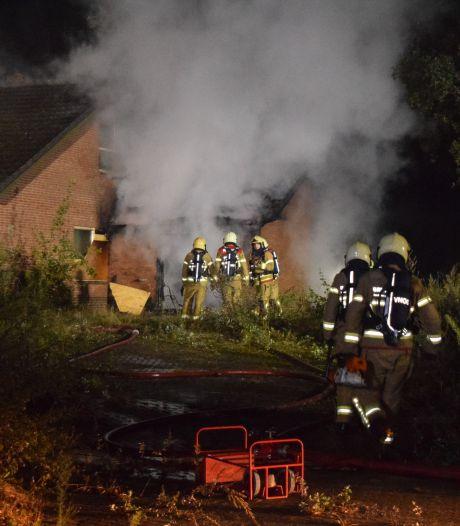 Brand in leegstaande woning in Doetinchem, mogelijk brandstichting