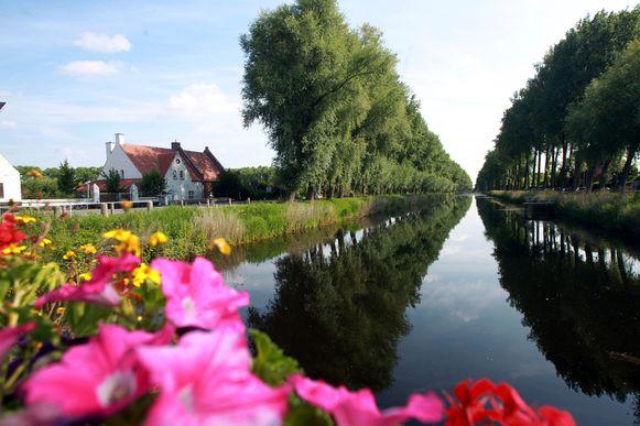 De Damse Vaart, bekend van zijn lange bomenrij, kan al twee eeuwen bogen op een rijke geschiedenis.