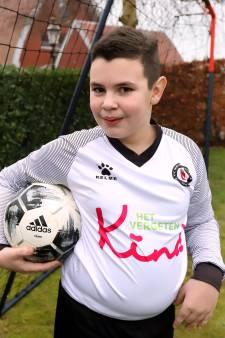 10-jarige Yves zoekt medespelers nadat voetbalclub speciaal voor hem een G-team opricht